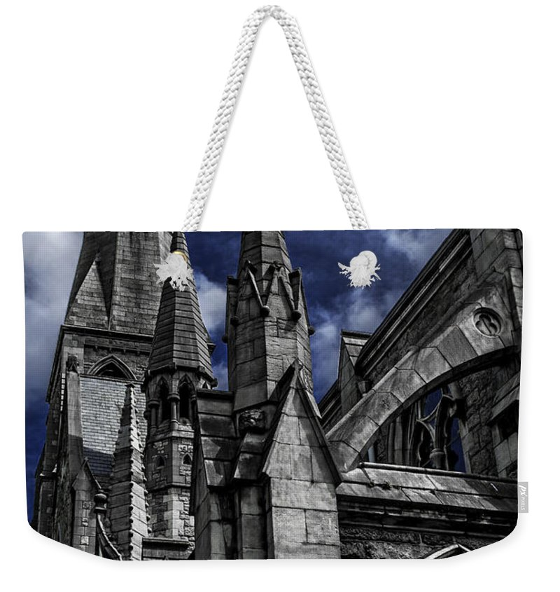 St Andrew's Church Weekender Tote Bag featuring the photograph Church Of Ireland by Joseph Yvon Cote