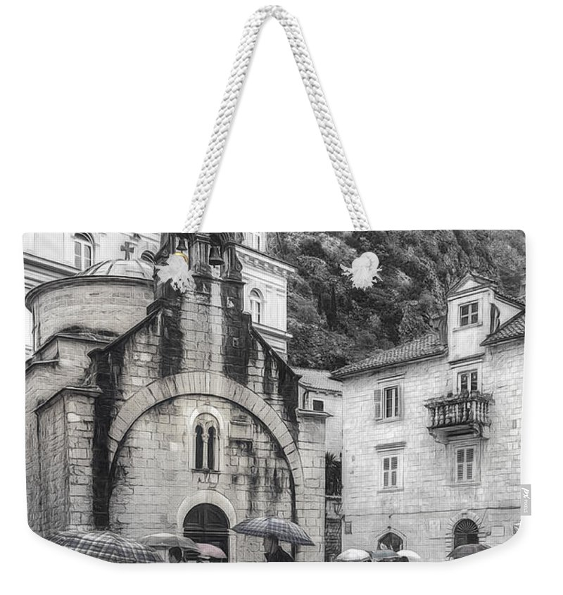 Architecture Weekender Tote Bag featuring the photograph Church Of St. Luke by Maria Coulson