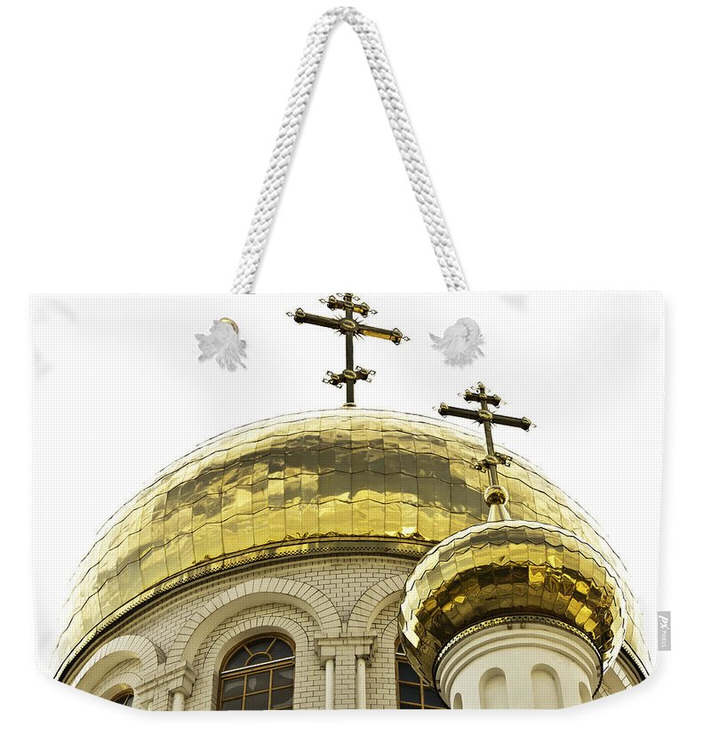 Architecture Weekender Tote Bag featuring the photograph Church1 by Svetlana Sewell