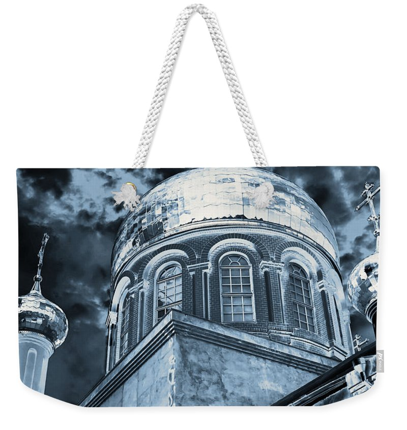 Architecture Weekender Tote Bag featuring the photograph Church2 by Svetlana Sewell