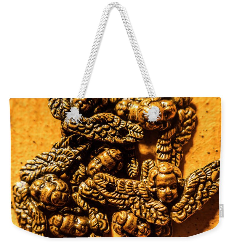Guardian Weekender Tote Bag featuring the photograph Circle Of Guardian Angel Elders by Jorgo Photography - Wall Art Gallery