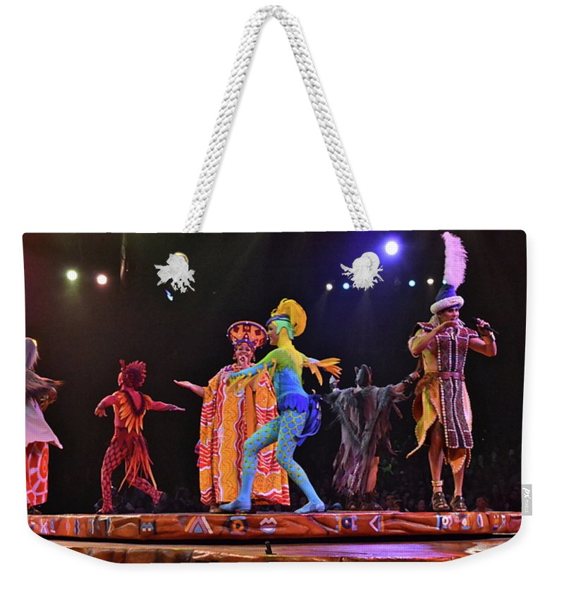 Animal Kingdom Weekender Tote Bag featuring the photograph Circle Of Life by Carol Bradley