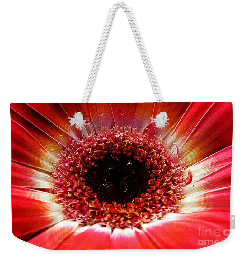 Clay Weekender Tote Bag featuring the photograph Circumvent by Clayton Bruster