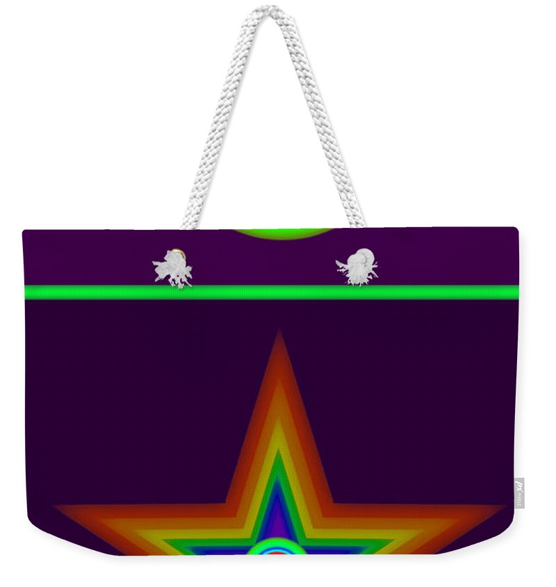Circus Weekender Tote Bag featuring the painting Circus Classique by Charles Stuart