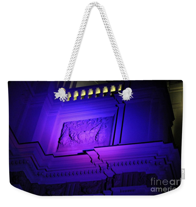 Clay Weekender Tote Bag featuring the photograph City Hall Pasadena California by Clayton Bruster