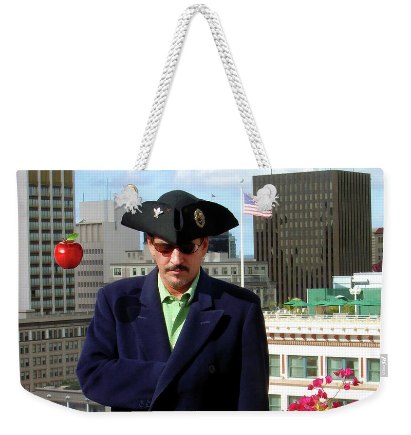 Pirate Weekender Tote Bag featuring the photograph City Pirate by Snake Jagger