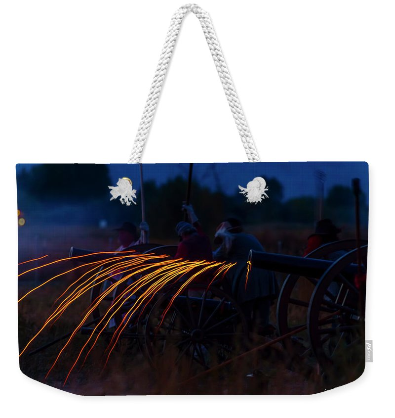 19th Century Weekender Tote Bag featuring the photograph Civil War by Jens Peermann