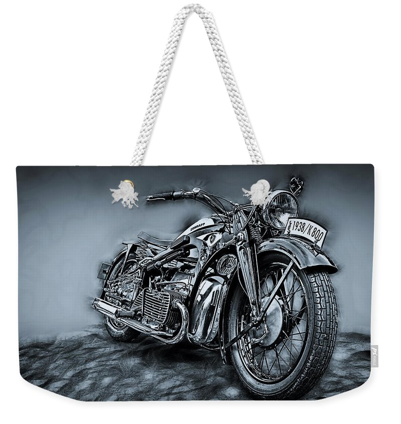 Bike Weekender Tote Bag featuring the photograph Classic Bike by Joachim G Pinkawa
