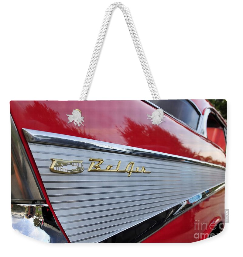 Fins Weekender Tote Bag featuring the photograph Classic Fins by David Lee Thompson