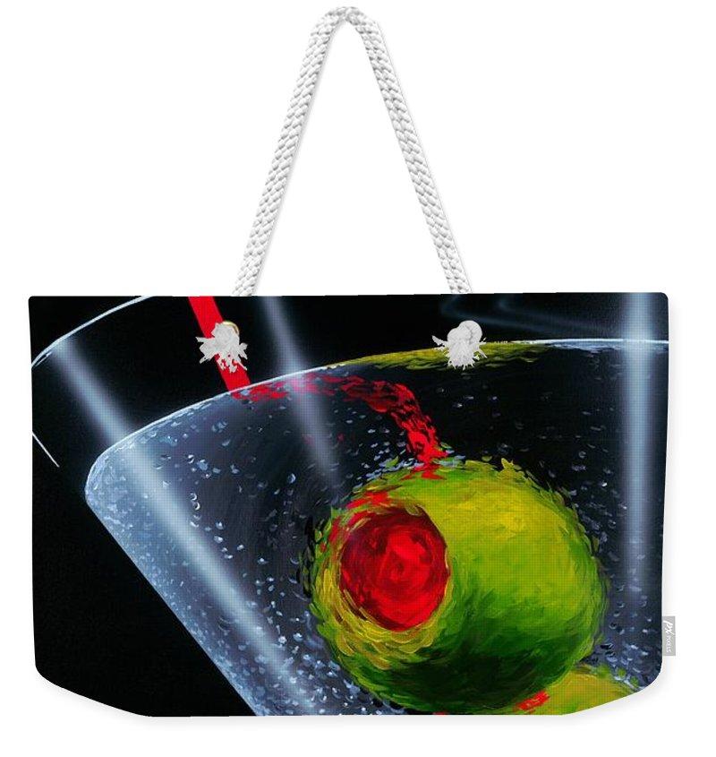 Food And Beverage Weekender Tote Bags