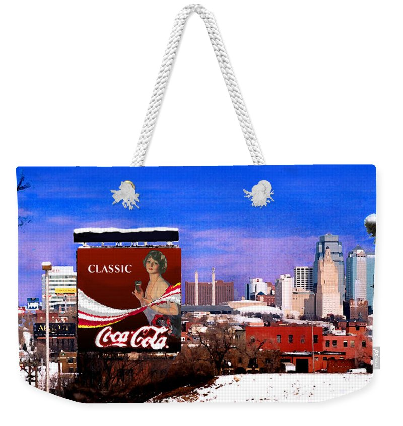 Landscape Weekender Tote Bag featuring the photograph Classic by Steve Karol