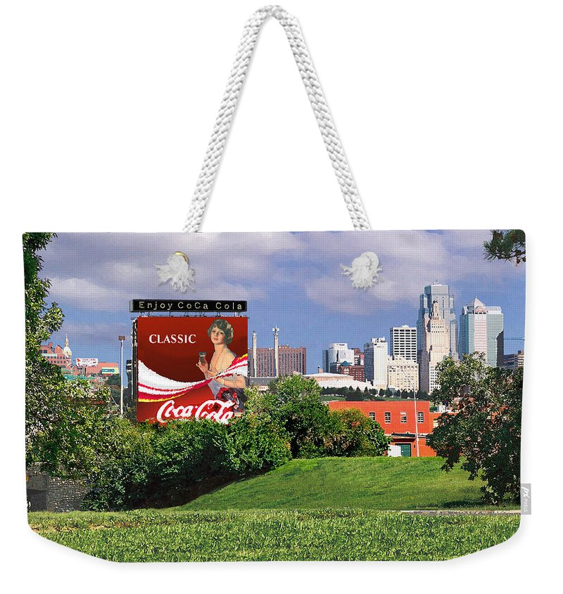 Landscape Weekender Tote Bag featuring the photograph Classic Summer by Steve Karol
