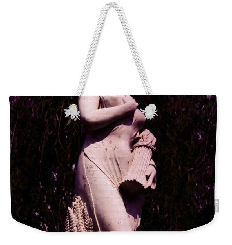 Farm Weekender Tote Bag featuring the photograph Classical Farm Girl by Bill Cannon