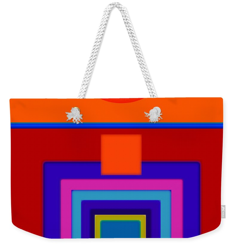 Classical Weekender Tote Bag featuring the painting Classical Wheels by Charles Stuart