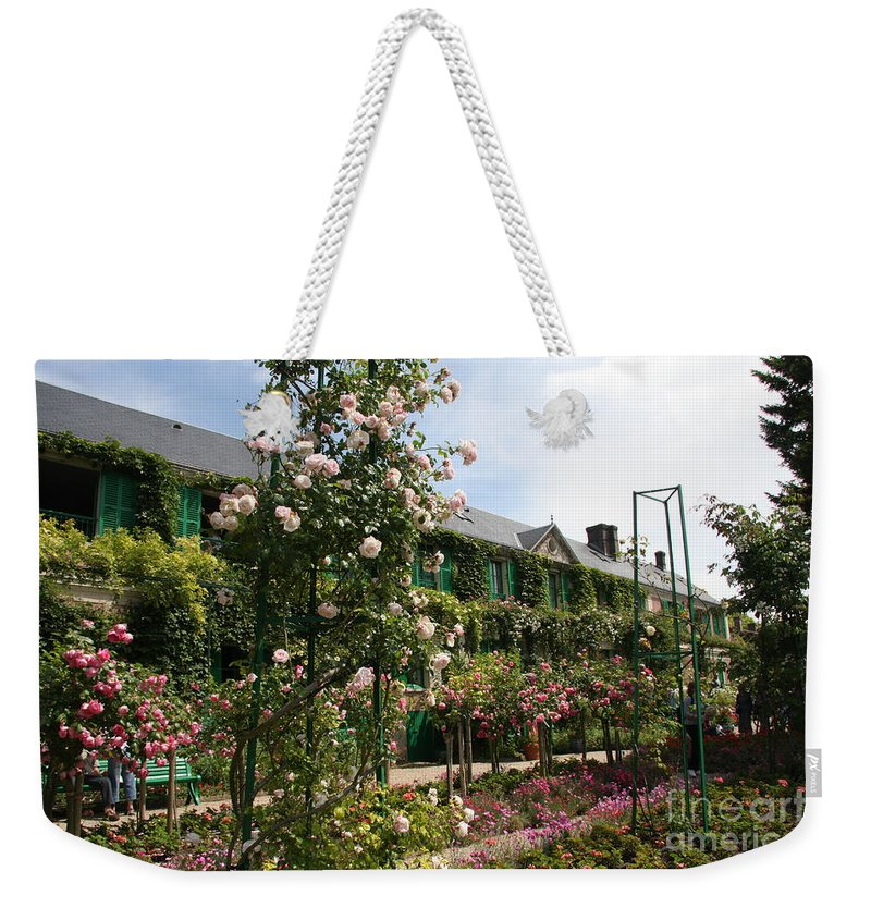 Monet Weekender Tote Bag featuring the photograph Claude Monets House - Giverney - France by Christiane Schulze Art And Photography