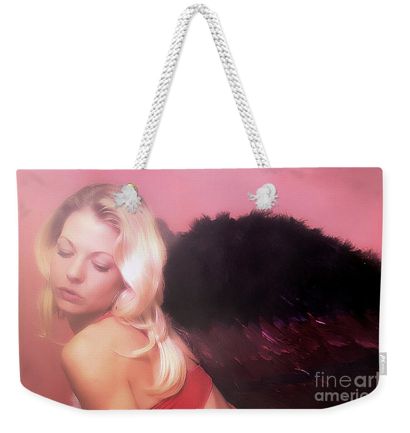 Clay Weekender Tote Bag featuring the photograph Clays Fallen Angel Series No 4 by Clayton Bruster