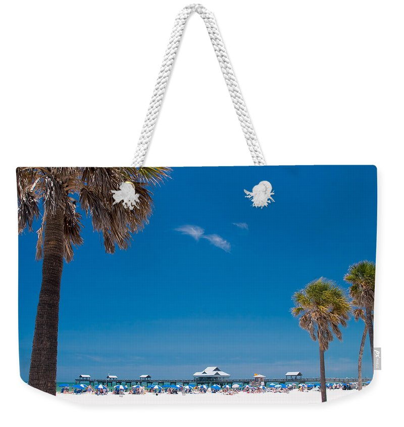 3scape Weekender Tote Bag featuring the photograph Clearwater Beach by Adam Romanowicz