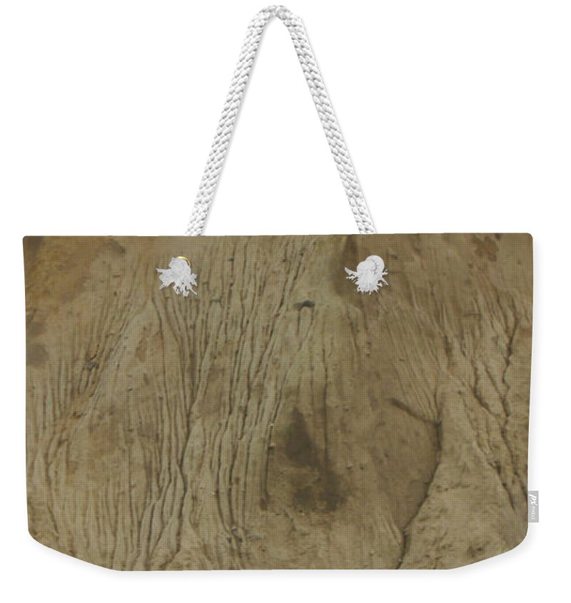 Cliff Trees Weekender Tote Bag featuring the photograph Cliff Trees by Heidi Sieber