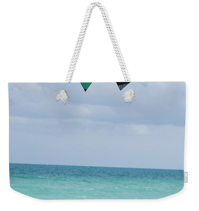 Sea Scape Weekender Tote Bag featuring the photograph Close Encounters by Rob Hans