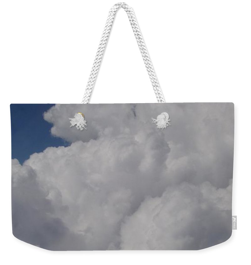 Clouds Weekender Tote Bag featuring the photograph Cloud Depth I by Deborah Crew-Johnson
