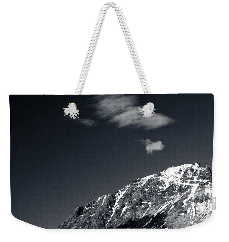 Mountains Weekender Tote Bag featuring the photograph Cloud Formation by Dave Bowman