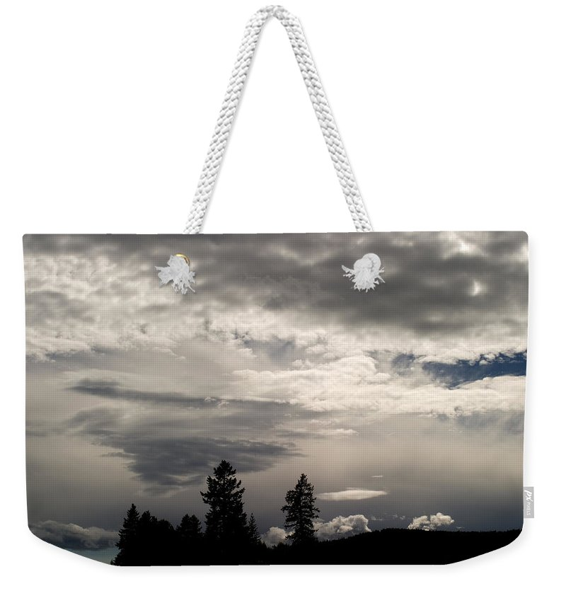 Landscape Weekender Tote Bag featuring the photograph Cloud Study 1 by Lee Santa