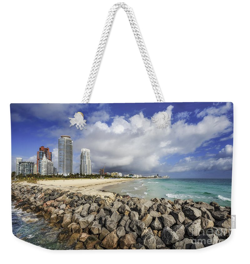 Kremsdorf Weekender Tote Bag featuring the photograph Cloudburst by Evelina Kremsdorf
