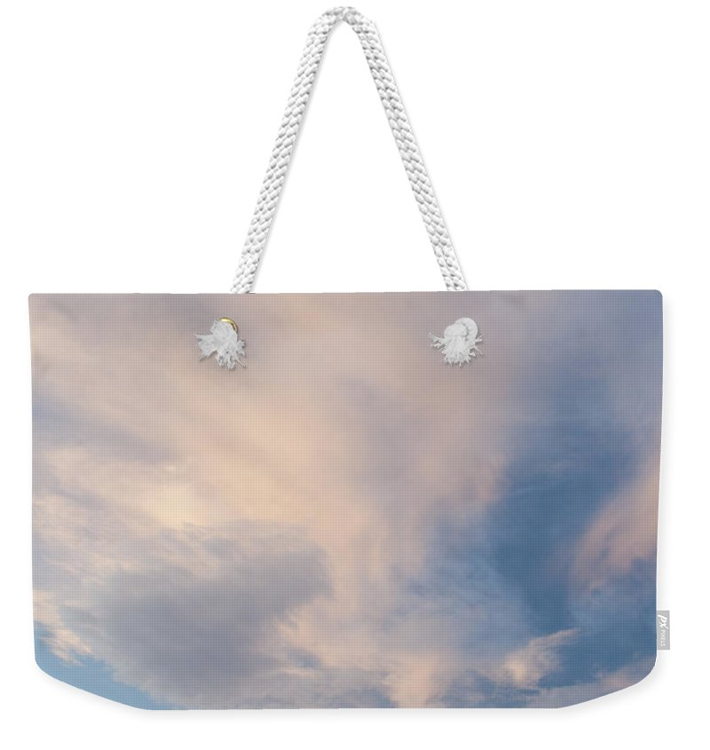 Canyon Weekender Tote Bag featuring the photograph Clouds 0505 by Bob Neiman
