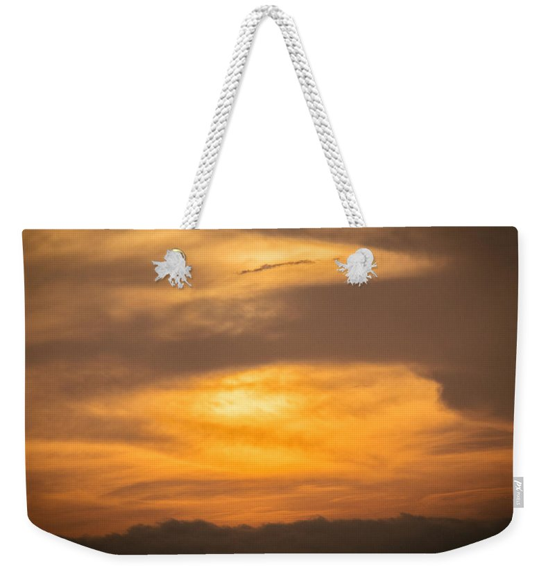 Ahuachapan Weekender Tote Bag featuring the photograph Clouds Ahuachapan 2 by Totto Ponce