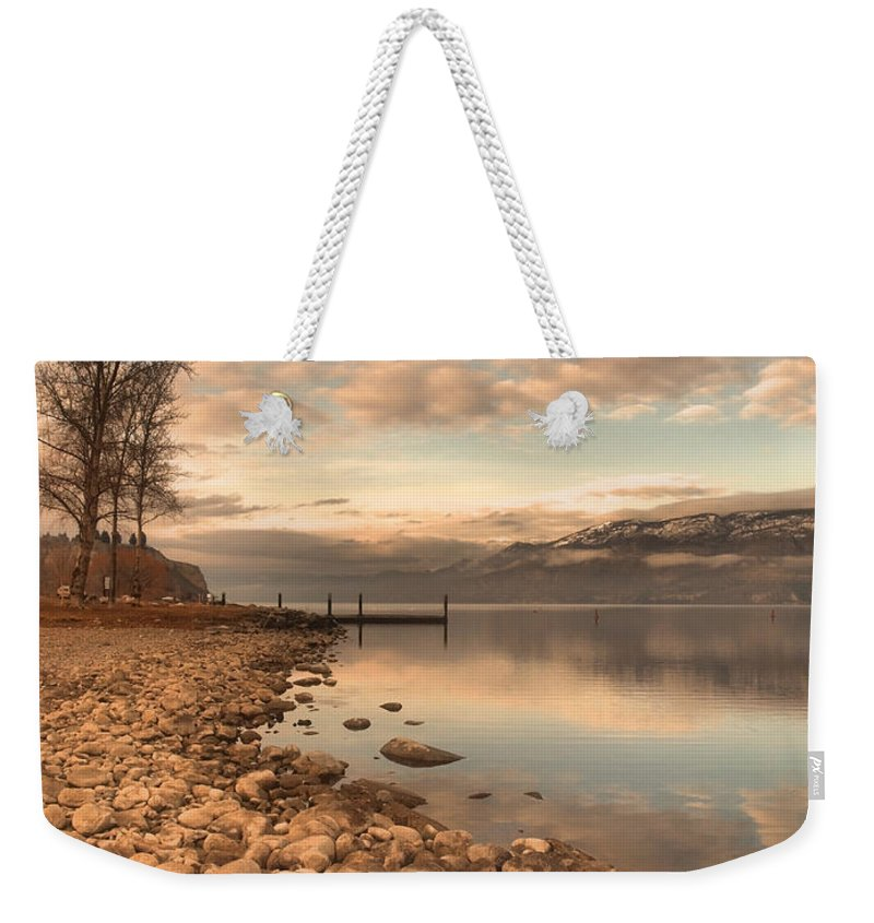 Clouds Weekender Tote Bag featuring the photograph Clouds And Calmness by Tara Turner
