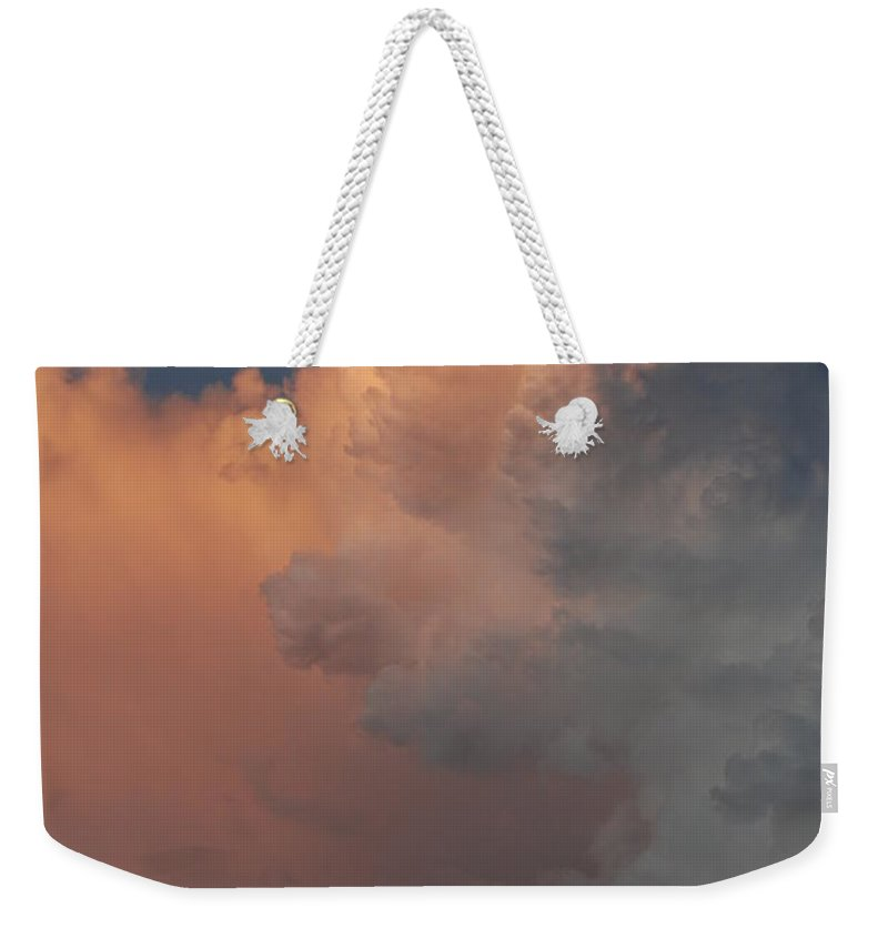 Clouds Weekender Tote Bag featuring the photograph Clouds And More Clouds by Rob Hans