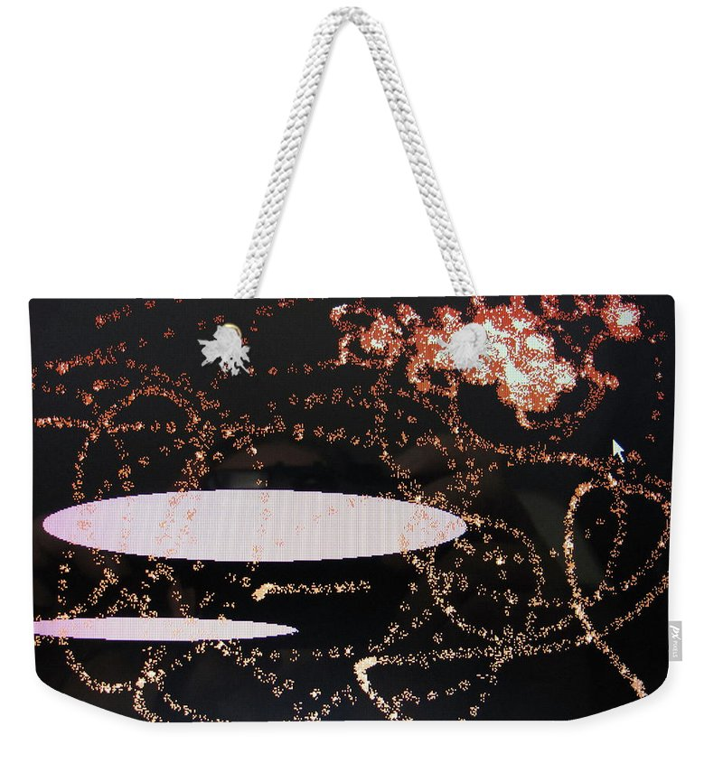 Clouds Weekender Tote Bag featuring the digital art Clouds by Ian MacDonald