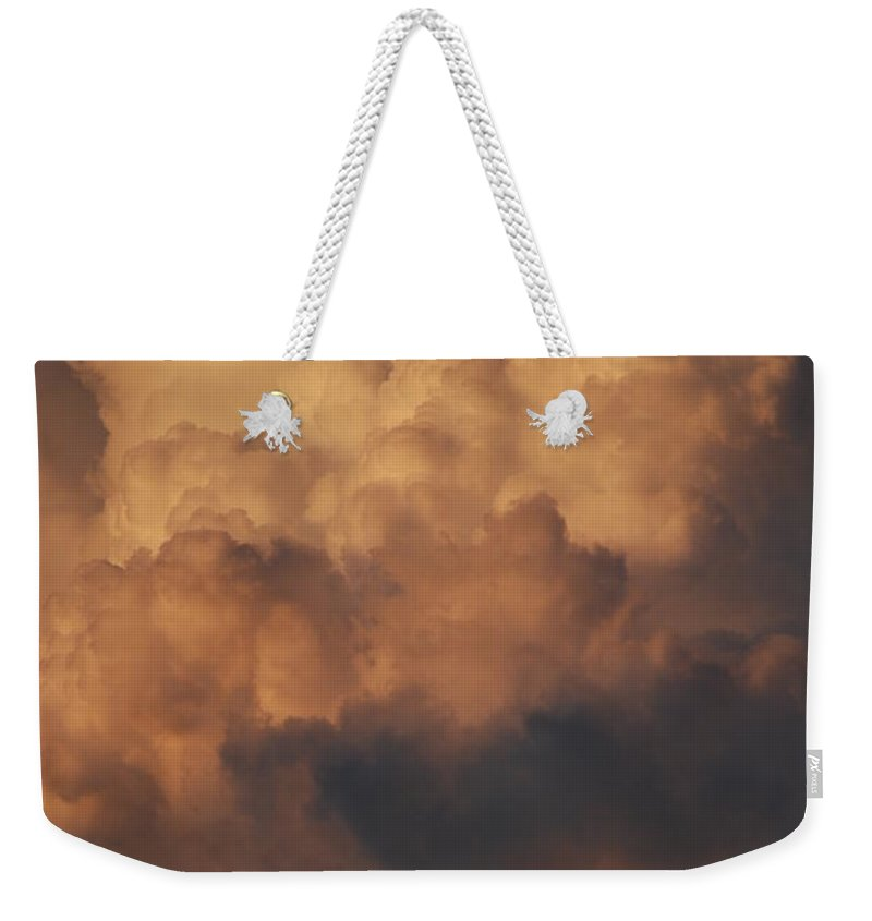Clouds Weekender Tote Bag featuring the photograph Clouds In Color by Rob Hans