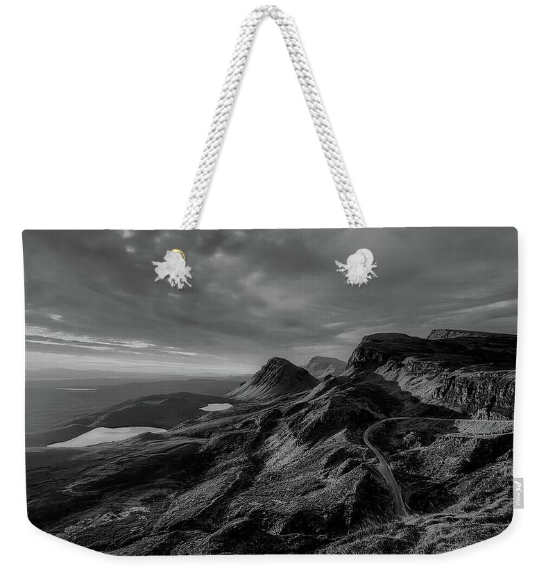 Isle Of Skye Weekender Tote Bag featuring the photograph Clouds Over The Isle Of Skye by Unsplash