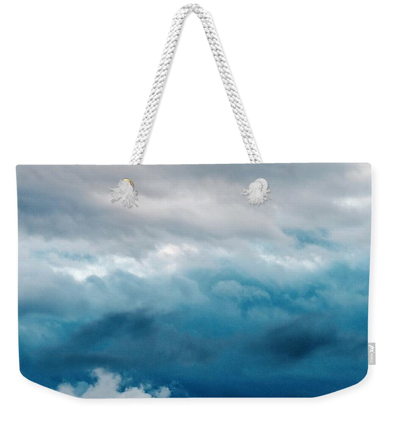 Cloud Weekender Tote Bag featuring the photograph Clouds Two by Modern Art