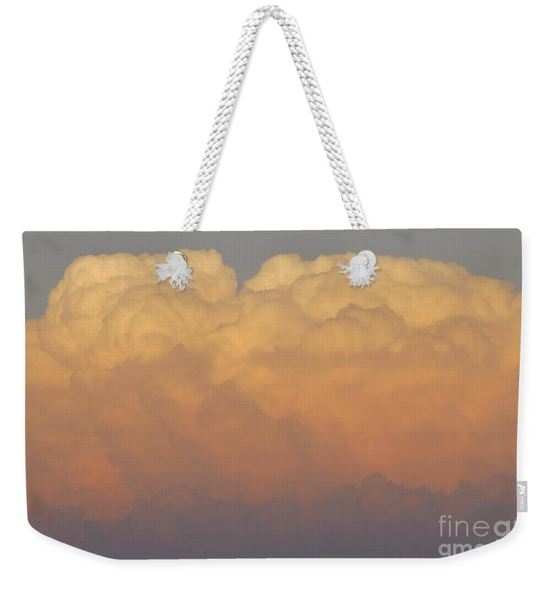 Clouds Weekender Tote Bag featuring the photograph Cloudscape Work Number Six by David Lee Thompson