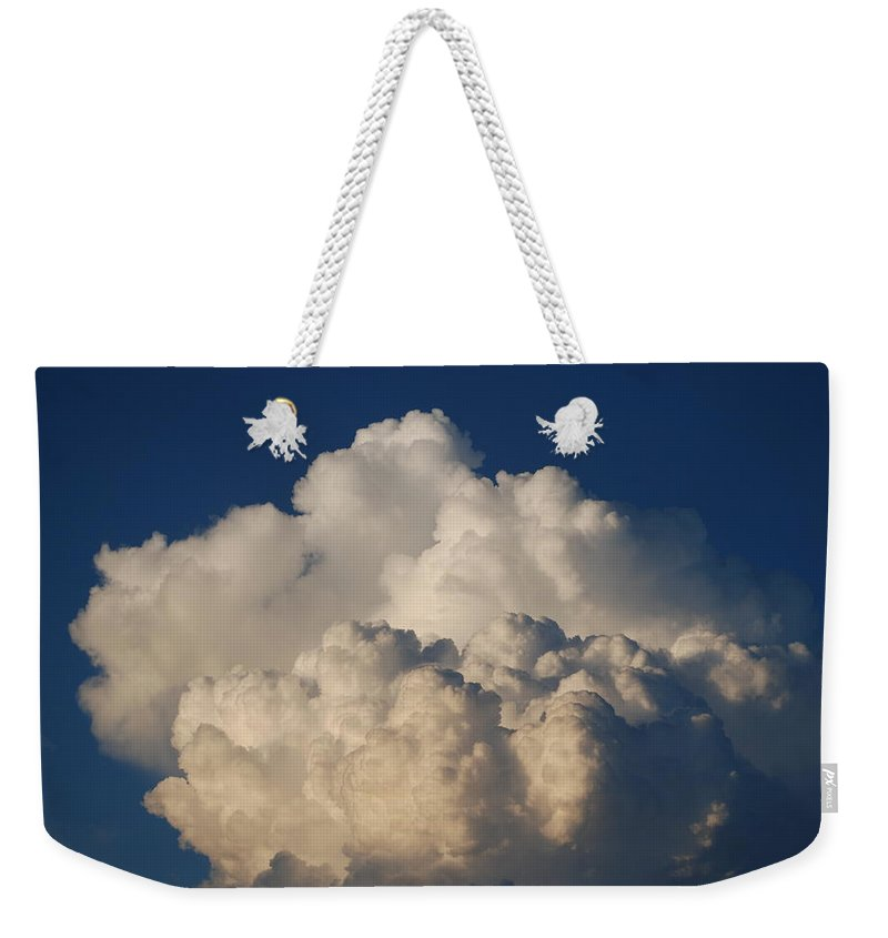 Clouds Weekender Tote Bag featuring the photograph Cloudy Day by Rob Hans