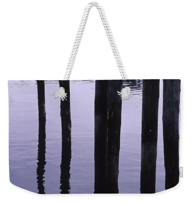 Landscape New England Fishing Boat Nautical Coast Weekender Tote Bag featuring the photograph Cnrf0907 by Henry Butz