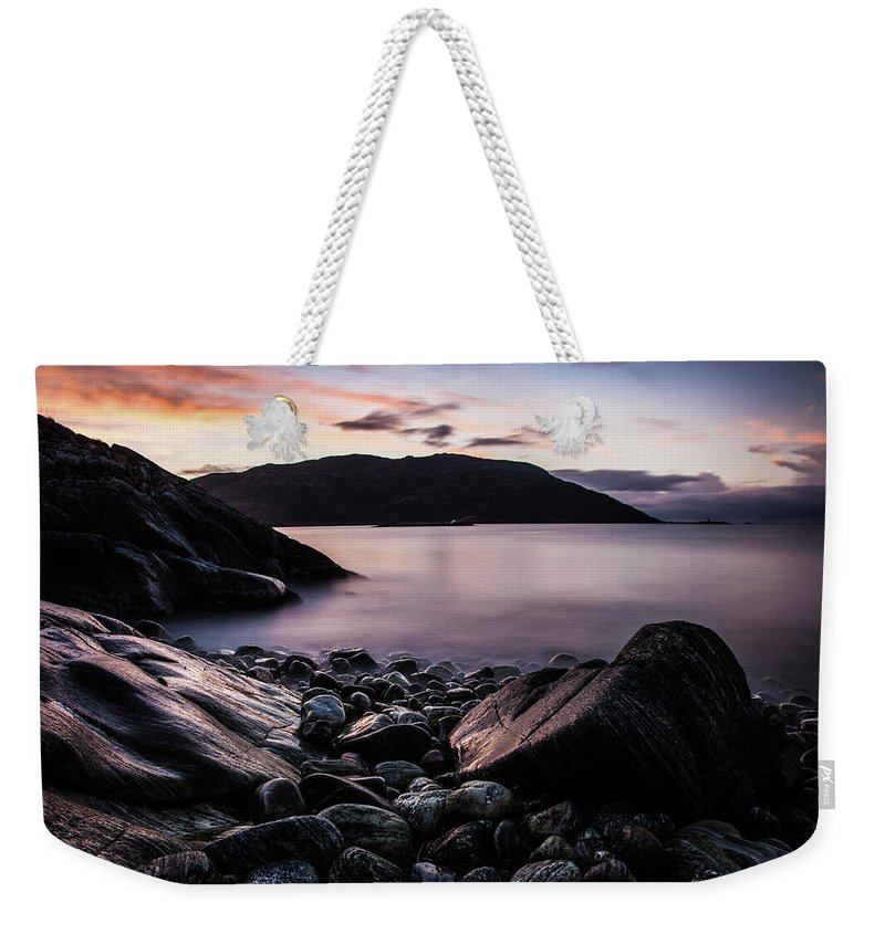 Norway Weekender Tote Bag featuring the photograph Coast Of Norway by Sebastian Worm
