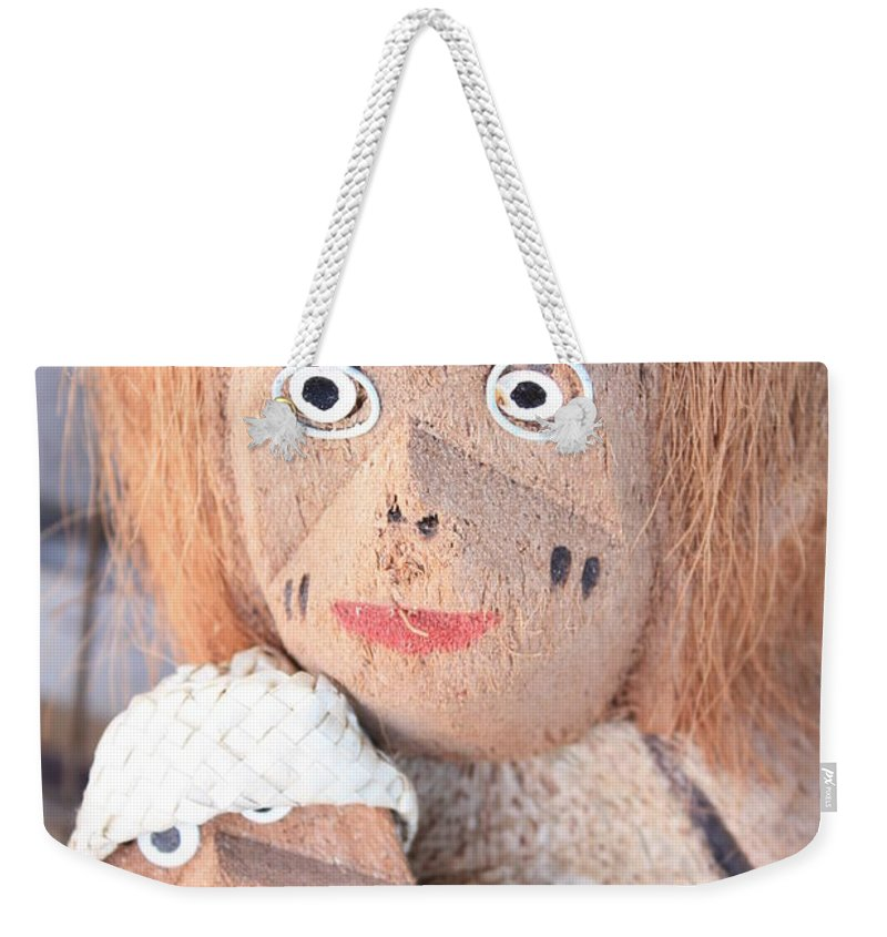 Coconuts Weekender Tote Bag featuring the photograph Coconut Family by Carol Groenen