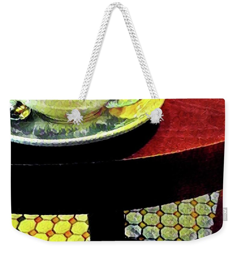 Coffee Weekender Tote Bag featuring the photograph Coffee Time by Cherylene Henderson