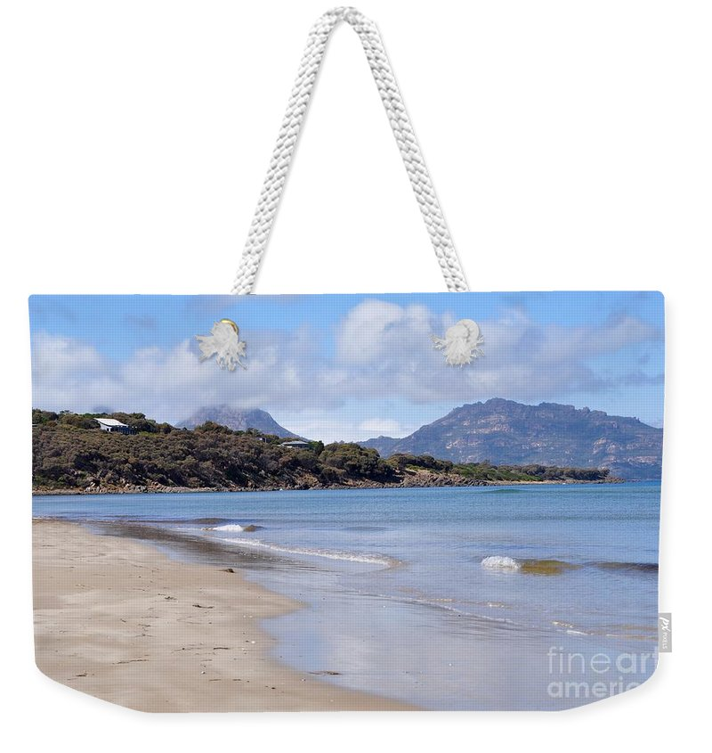 Coals Bay Weekender Tote Bag featuring the photograph Coles Bay by Csilla Florida