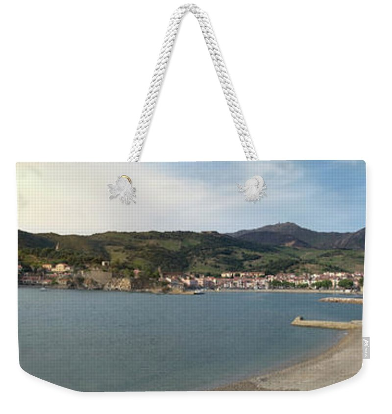 Collioure Weekender Tote Bag featuring the photograph Collioure by Robert Stein