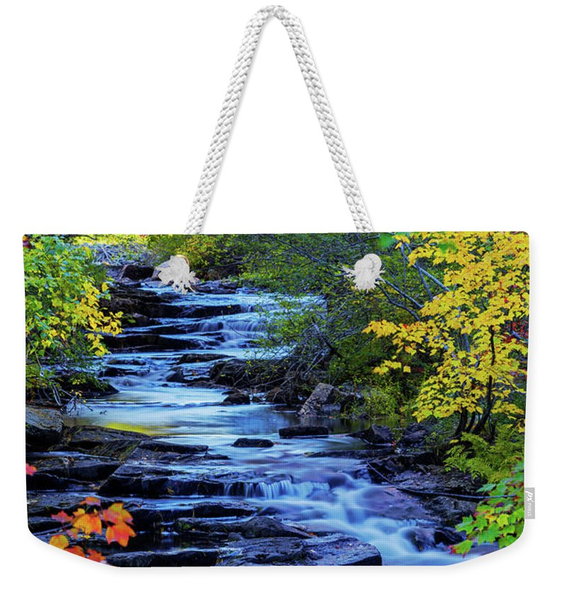 Color Alley Weekender Tote Bag featuring the photograph Color Alley by Chad Dutson