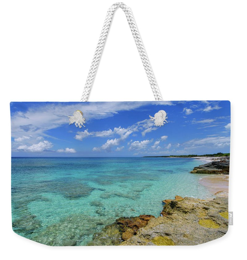 Chad Dutson Weekender Tote Bag featuring the photograph Color And Texture by Chad Dutson