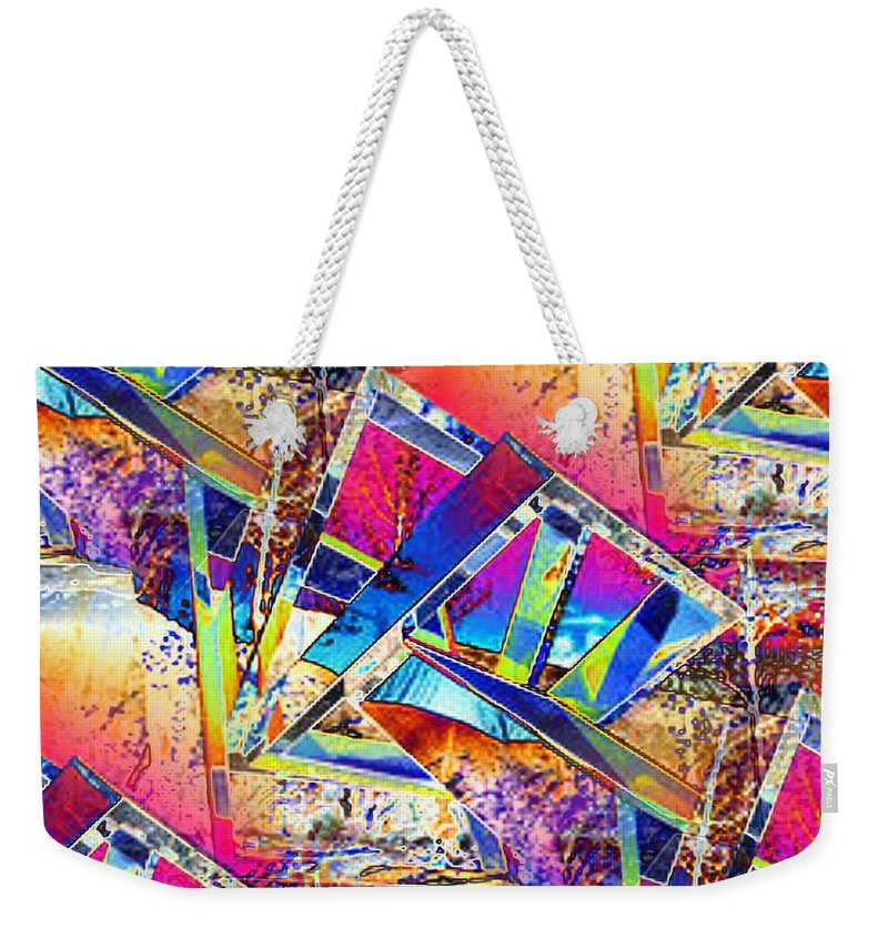 Seattle Weekender Tote Bag featuring the photograph Color Me Abstract by Tim Allen