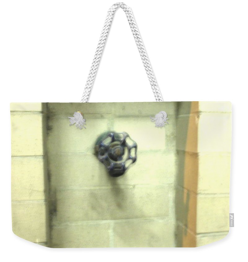 Color Photograph Weekender Tote Bag featuring the photograph Color Spicket by Thomas Valentine