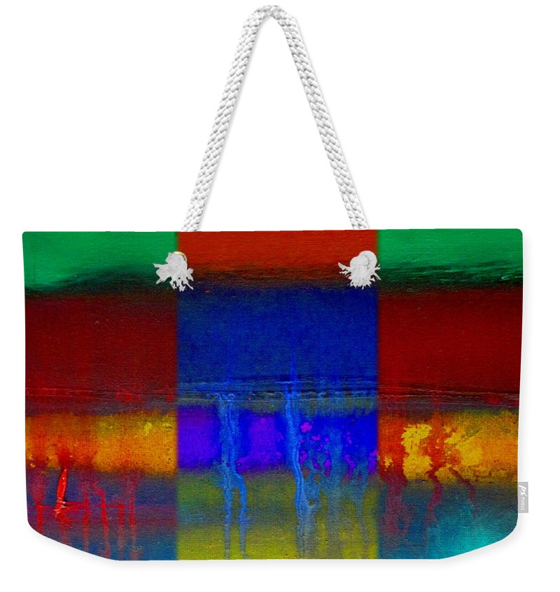 Landscape Weekender Tote Bag featuring the painting Color State by Charles Stuart