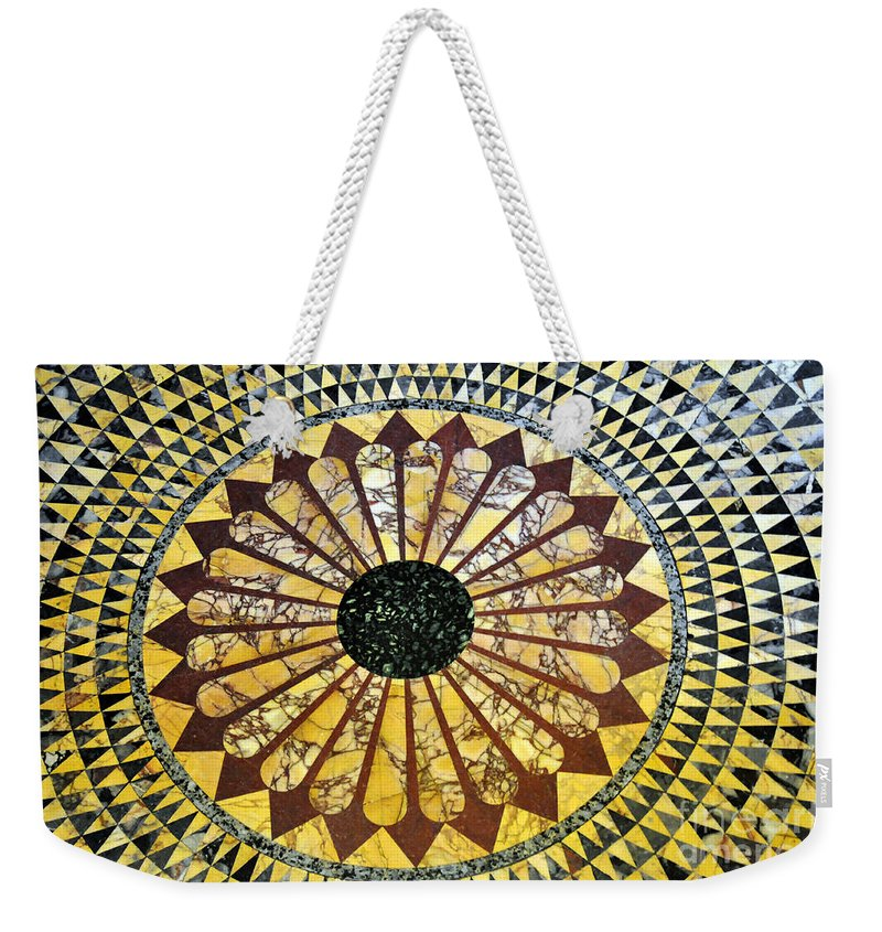 Clay Weekender Tote Bag featuring the photograph Color Tiles by Clayton Bruster