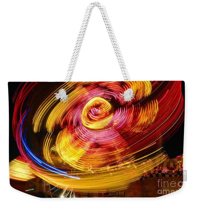 Fair Weekender Tote Bag featuring the photograph Color Twist by David Lee Thompson